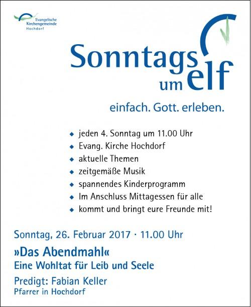 Sonntags um Elf 2017.02